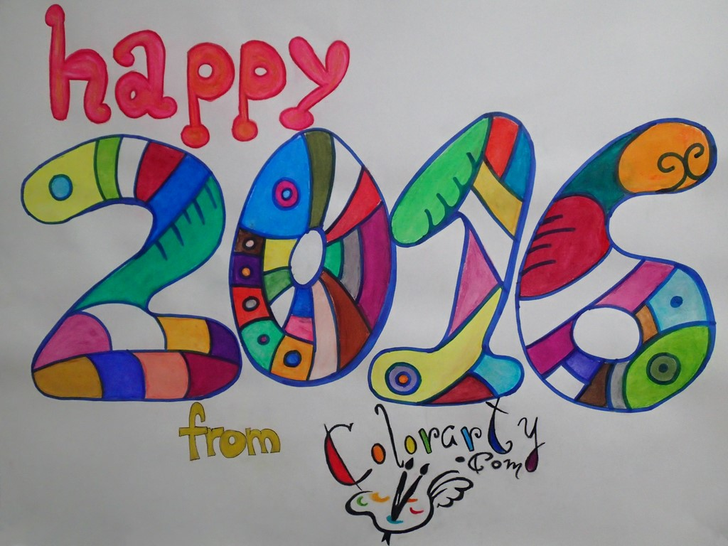 Happy new year from all the Colorarty.com team!!!