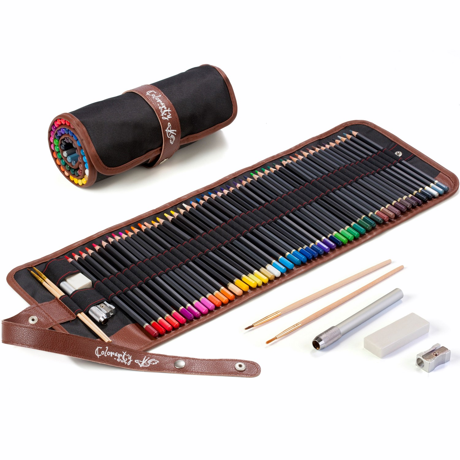 Colorarty 48 professional adult watercolor pencils