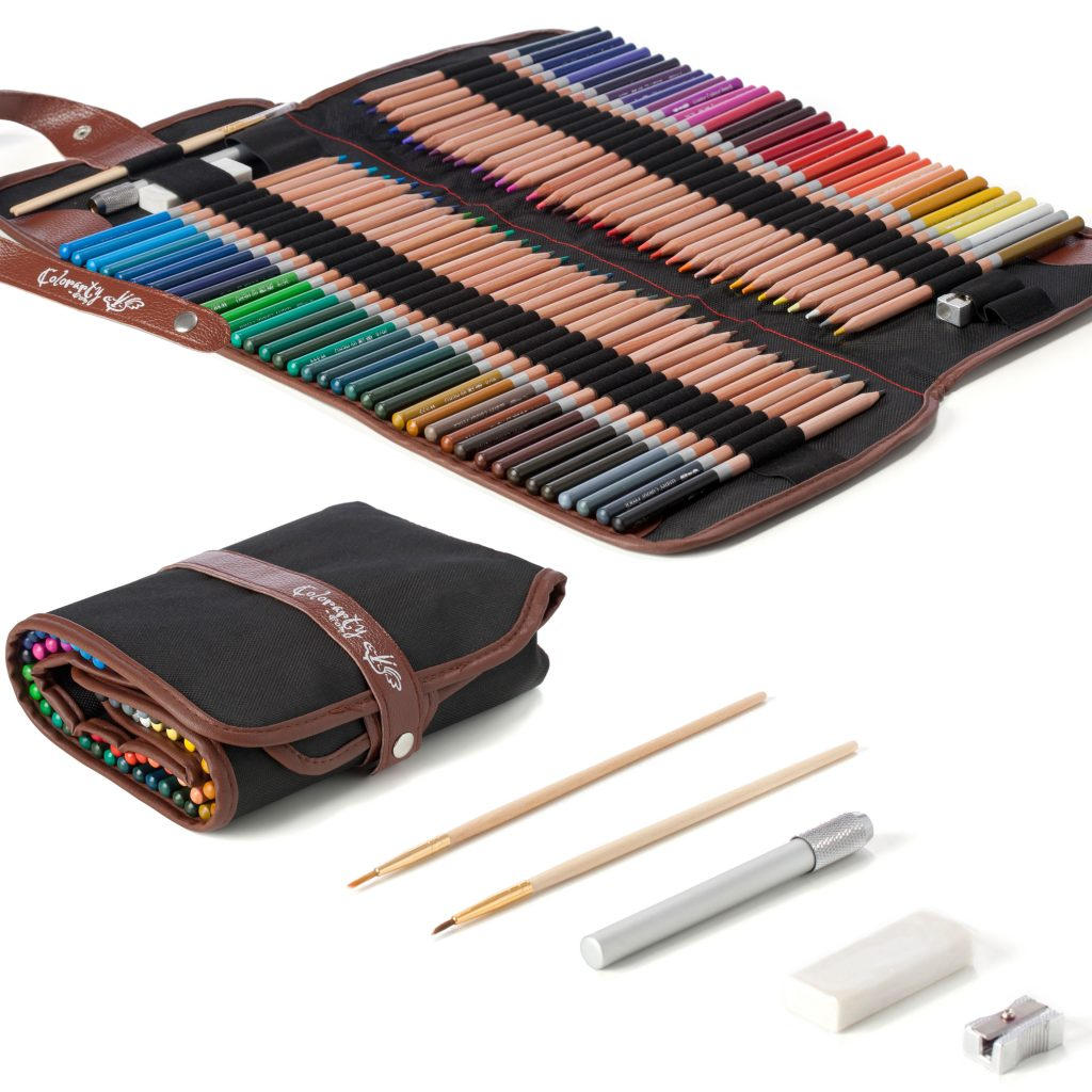 72 luxery Cedar Wood watecolor Pencil Set