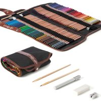 72 luxery Cedar Wood watecolor Pencil Set