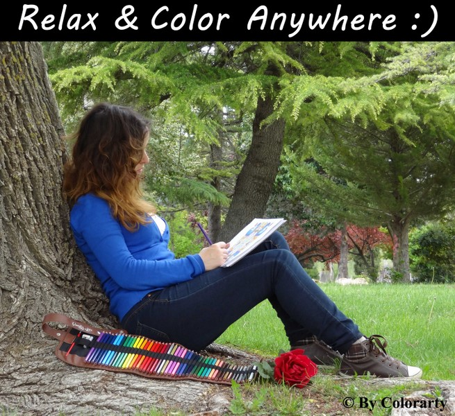 Relax & Color anyware!
